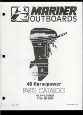 Orig 1979 Mariner 48 HP Outboard Motor/Engine Illustrated Parts List Catalog