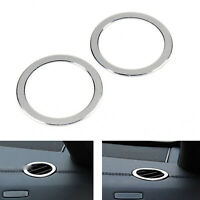 Inner Front Air Vent Outlet Cover Trim 2Pcs For Benz E Class W212 2010-15 SIL B4