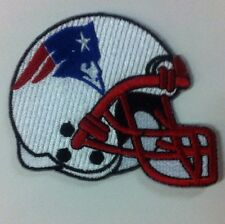 New England Patriots-Helmet-NfL-Crest/Logo Patch 3.25 x 3 inches Sew on/iron On