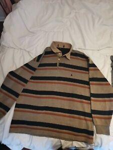 Polo Ralph Lauren Cotton Sweater Polo Boys XL Sku 043