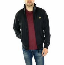 Men's Fred Perry Harrington jacket Small Logo In Black    Size Small