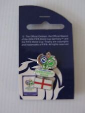 PINS - FIFA WORLD CUP GERMANY 2006 FOOTBALL CALCIO <  INGHILTERRA> UFFICIALE