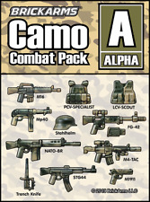 BRICKARMS Camo Combat Pack - ALPHA compatible with Lego®