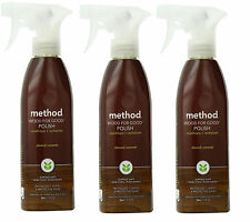3 Pack of Method Wood For Good Spray, Almond, 12 Ounce Spray Bottle - AMbx07P