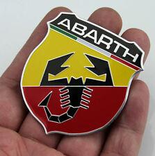Aufkleber Emblem Metall Schriftzug Plakette für Skorpion Shield 3D Auto ABARTH