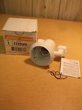New Juno Trac Master T220Wh Enclosed Can Lampholder *Free Shipping*