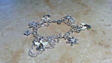 KIRKS FOLLY dream angel hope  CHARM Bracelet  silvertone retired