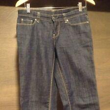 EUC Women's London Jean Victoria's Secret STRAIGT Leg Jeans SIZE 4
