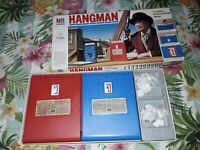 Mb Games Hangman Vintage family words and letters game in the original box