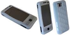 Carcasa de silicona para Samsung s3650 Corby en blanco Funda protectora móvil cover
