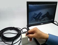 Dia 7mm Waterproof Borescope 6 LED USB Endoscope 10M Inspection Camera Flexible