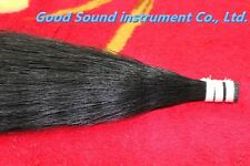 250g cello double bass Mongolia natural black bow hair horse tail 80-82 cm
