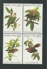 PALAU # 5-8 BIRDS (Block of 4)
