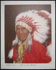 Howard Burger Remarqued limited Print Chief Hornbuckle