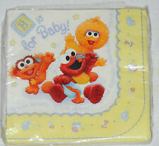 ~SESAME STREET BEGINNINGS BABY SHOWER~16-LUNCH NAPKINS  PARTY SUPPLIES