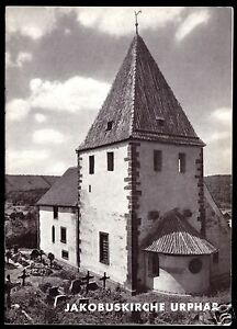 tour. Broschüre, Jakobuskirche Urphar, 1965