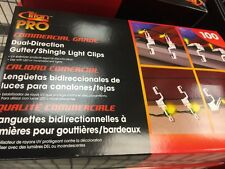 No Ladder Pro Rapid Release Clips 100 Clips Gutters Shingles