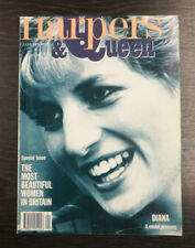 Harpers & Queen Magazine: Princess Diana by Jayne Fincher, January 1991