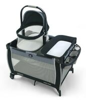 Graco Baby Pack 'n Play Day2Dream Portable Bedside Bassinet Playard Hutton NEW