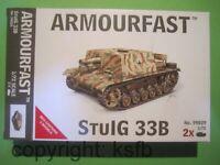 1:72 Armourfast 99029 WKII 2x Deutsches Sturminfanteriegeschütz 33B StuIG Panzer