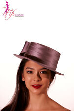 Cupids Millinery Melbourne Satin Hat with Loops - Quality & Fit for the Queen