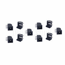 10pcs 5.5x2.1mm DC Power Supply PCB Mount Female Jack Socket Connector 3 pin