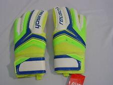 Reusch Soccer Goalie Gloves Serathor SG Finger Support SZ 9 3770810S SAMPLES
