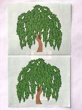 2 MODULES PAPER WHISPERS WILLOW TREE MRS GROSSMAN'S STICKERS GARDENS WOODS
