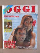 OGGI n°30 1990 Albano Rimona Power Oriana Fallaci Bud Spencer Rivera [G767]