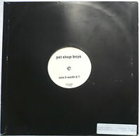 "PET SHOP BOYS - Was it worth it? (DJ Promo) - 12""-Maxi"