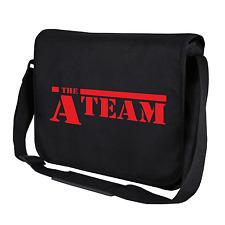 The A-Team   ATeam   A Team   Kult   Schwarz   Umhängetasche   Messenger Bag