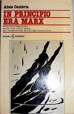 ADELE CAMBRIA IN PRINCIPIO ERA MARX SUGARCO 1978