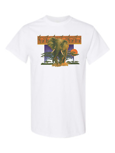 Nature Elephant Wildlife African Asian HoneVille Adult Unisex T-shirt