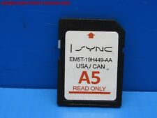 FORD LINCOLN GPS UPDATE [ A5 ] NAVIGATION SD CARD SYNC EM5T-19H449 OEM