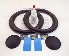 "BOSE 301 8"" Woofer Refoam Kit - Speaker Foam Repair w/ Shims & Dust Caps!"
