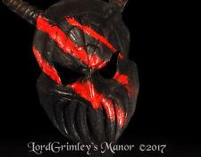"New 2017 24"" Dragon Knight Halloween Mask With Horns Monster Horror Devil"