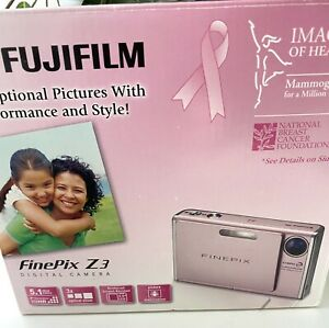 Fujifilm FinePix Pink Limited Edition Breast Cancer Z3 5.1 MP Digital Camera