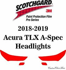 3M Scotchgard Paint Protection Film Pro Series Clear 2018 2019 Acura TLX A-Spec