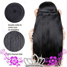 "26"" 100g/bundle 100% Vergin Human Hair Unprocessed Weft Straight Hair Extensions"