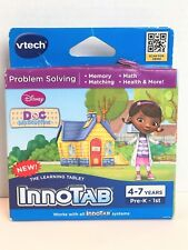 VTech InnoTab Disney Junior Doc McStuffins New Problem Solving Video Game