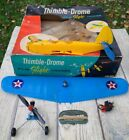 1960 Cox Thimble Drome PT-19 Trainer Gas Powered Control Line .049 Airplane 5700