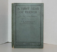 A First Year Of French For Very Young Beginners J  E Mansion 1905 First Edition