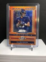 2019 Optic Contenders Eli Manning Winning Ticket Giants 20/50