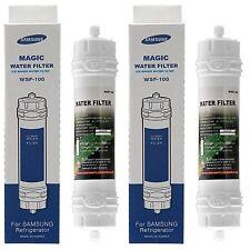2 x Genuine Fridge Filter for Samsung WSF-100, Magic Water Filter - EF-9603