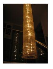 Lampada da parete appesa a presa corrente lung. 1,8 m  80 luci, tubo in tessuto