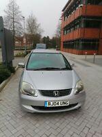 2004 Honda Civic 1.6 SE - very good on fuel , 7 month Mot ,,, quick sale,,,