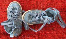 Chaussure basket bleue enfant motif à fleurs Gémo - taille 24