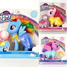Lot of 3 My Little Pony Twilight Sparkle, Pinkie Pie , & Rainbow Dash Dolls Nip