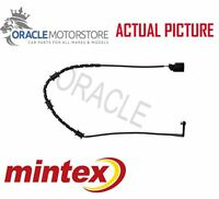 MINTEX REAR BRAKE PAD WEAR SENSOR WARNING INDICATOR GENUINE OE QUALITY MWI0526
