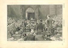 Procès de Lord John Francis Stanley Russell Tribunal de Londres UK GRAVURE 1901